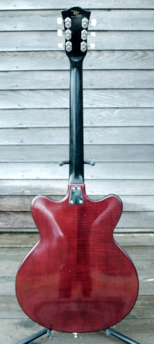 1968 HOFNER Very Thin 4600 EV2 burgandy, Excellent,