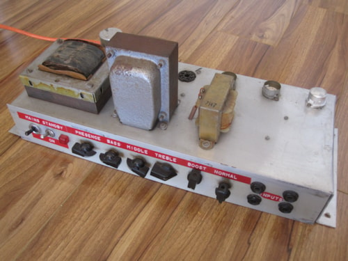 1968 JTM45 RS RADIOSPARES MARSHALL CIRCUIT AMP CHASSIS > Amps & Preamps |  Royal Brit Music