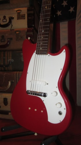 1968 Kalamazoo KG-1 Red, Excellent, GigBag, $595.00