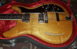 1968 Kustom K-200 B Semi-Hollowbody Guitar