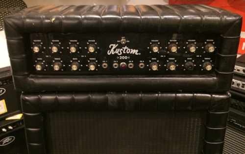 1968   Kustom  K200B5 Black, Very Good