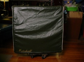 1968 Marshall Green Levant Cover For Slant 4X12 Model 1960A