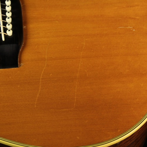 1968 Martin Used 1968 Martin D-28 Dreadnought Acoustic Guitar Natural