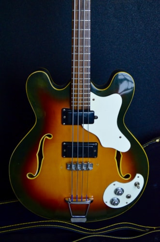 1968 Mosrite Celebrity III Sunburst