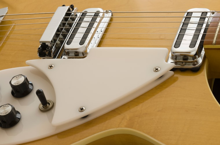 1968 Rickenbacker DOUBLE-BOUND 365 OS model, Accent Vibrato, Maple-Glo finish, Crushed Pearl Inlay