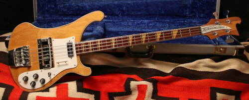 1968 Rickenbacker 4001  Mapleglo, Very Good, Original Hard, $7,200.00