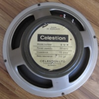 1968 VINTAGE CELESTION MARSHALL G12M20 T1221 GUITAR SPEAKER