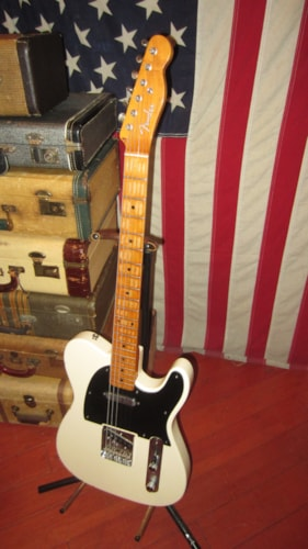 1969 Aria Fender® Telecaster® Copy White, Excellent, GigBag, $695.00