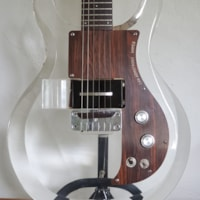 1969 Dan Armstrong See-Through/Lucite Guitar