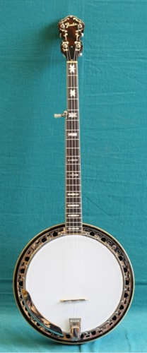 1969 Fender Artist 5-String Banjo Excellent, Original Hard