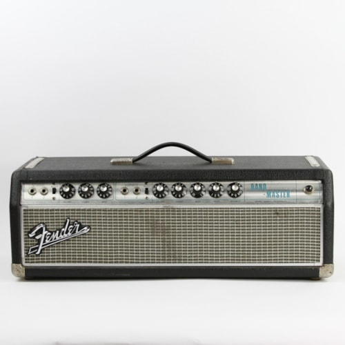 1969 Fender Bandmaster Silverface Drip Edge, Very Good, $699.00