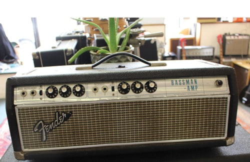 1969 FENDER  Bassman Head Drip Edge