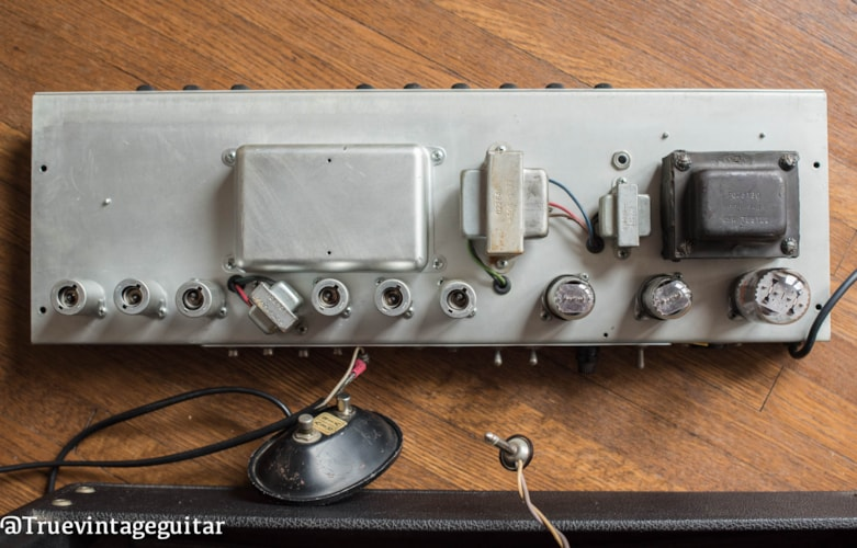 1969 Fender Deluxe Reverb-Amp Very Good, $1.00