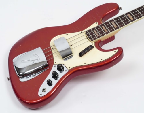 1969 Fender Jazz Bass Candy Apple Red