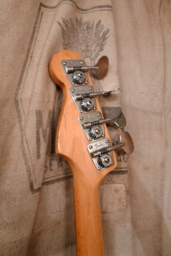 1969 Fender® Precision Bass® Sunburst, Very Good, Original Hard, $3,500.00