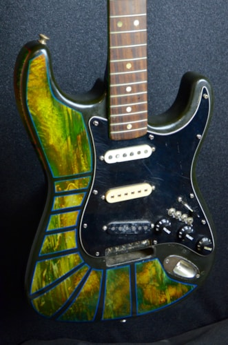 1969 Fender® Stratocaster® (highly modded) Psychedelic, Fair, $1,500.00