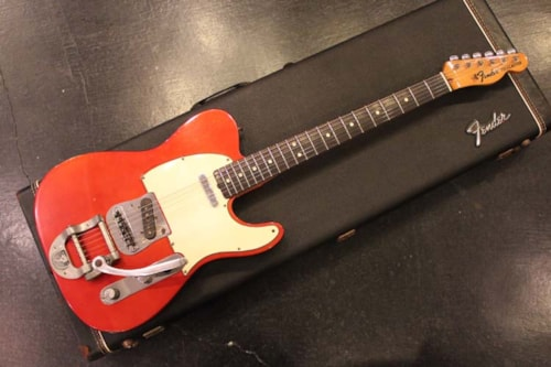 1969 Fender® Telecaster® Candy Apple Red, Excellent, Original Hard, Call For Price!