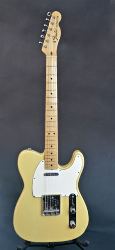 1969 Fender Telecaster Creme/Blonde, Near Mint, Original Hard, $7,200.00