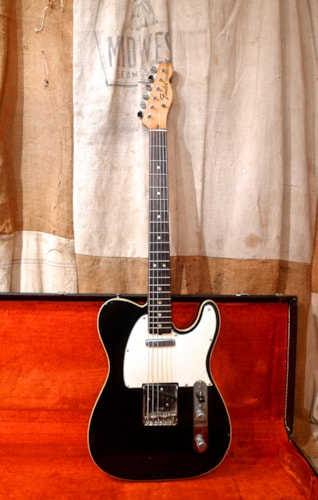 1969 Fender Telecaster Custom Black - Refinished, Good, Original Hard, $5,200.00
