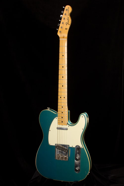 Dhl Customer Service Phone Number >> 1969 Fender Telecaster Custom Lake Placid Blue > Guitars Electric Solid Body   Rudys Music