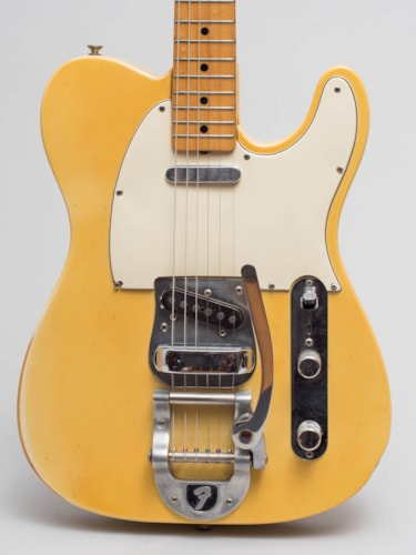 1969 Fender Telecaster (Factory Bigsby) White Blonde, Excellent, Hard