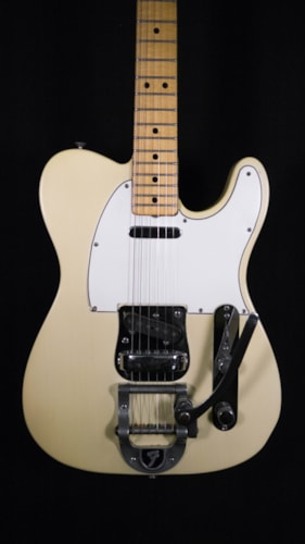 1969 Fender Telecaster With Factory Bigsby Blonde, Excellent, Original Hard