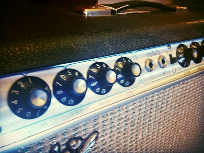 1969 Fender® Twin Reverb® Amp w/ JBL's Silverface, Excellent, Original Soft, $1,399.00