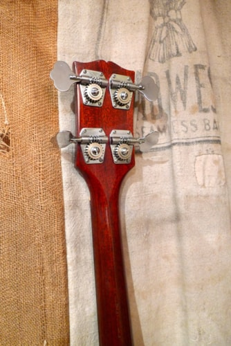 1969 Gibson EB-3 Cherry Red, Very Good, Hard, $2,650.00