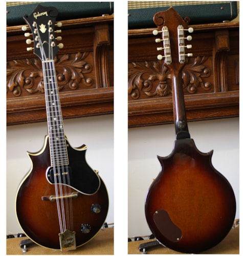 1969 Gibson Florentine Mandolin  tobacco sunburst, Excellent, Original Hard
