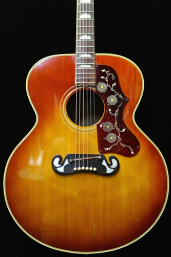 1969 Gibson J-200 Honeyburst, Near Mint, Hard, Call For Price!
