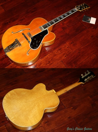 1969 Gibson Johnny Smith D Blonde, Excellent, Original Hard
