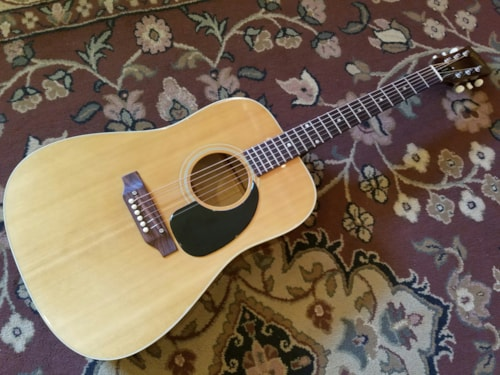 1969 Gibson Jubilee Deluxe Natural, Very Good, Hard, $599.00