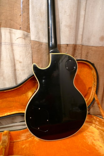 1969 Gibson Les Paul Custom Black, Very Good, Original Hard