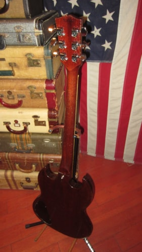 1969 Gibson SG STANDARD Cherry Red, Excellent, Hard, $3,199.00