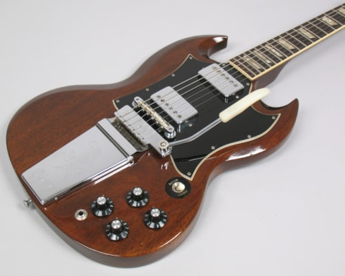 1969 Gibson SG STANDARD Walnut, Excellent, Original Soft