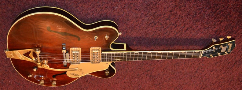 1969 Gretsch Country Gentlemen Brown, Excellent, Original Hard