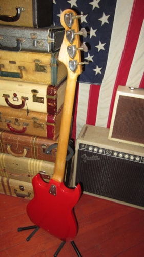 1969 Hagstrom Hagstrom II Bass Red, Excellent, GigBag, $849.00