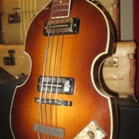 1969 Hofner Model 500/1 Beatle Bass