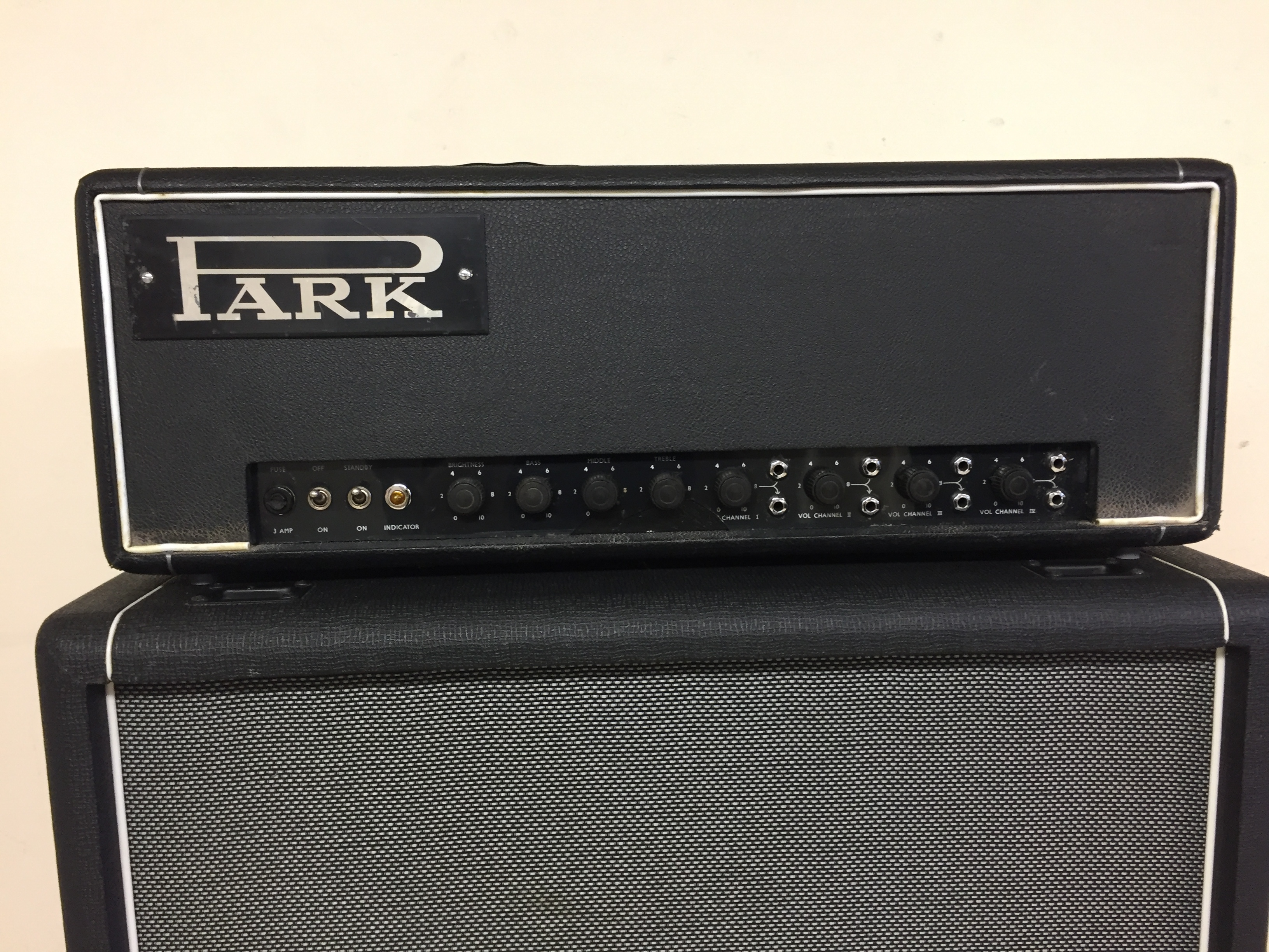 1969 Park - Marshall 150w Plexi Valve Amplifier Head made by Marshall Black  > Amps & Preamps | JW's Guitars and Amps