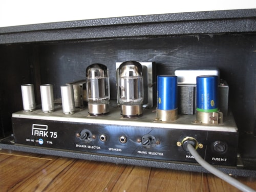 1969 PARK/MARSHALL 75W/50W PLEXI AMP > Amps & Preamps | Royal Brit Music