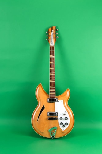 1969 Rickenbacker 381 Mapleglo, Very Good, Original Hard
