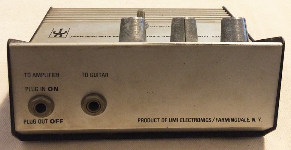 1969 United Musical Instruments (UMI) Buzz Tone & Volume Expander  Very Good, $250.00