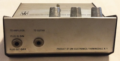 1969 United Musical Instruments (UMI) Buzz Tone & Volume Expander  Very Good