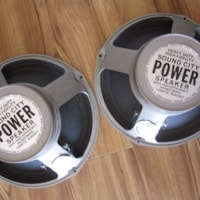 "1969 VINTAGE FANE SOUND CITY 12"" 8 OHM GUITAR SPEAKERS"