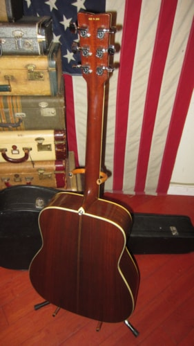 1969 Yamaha Nippon Gakki FG-300 Dreadnought Acoustic Red Label Natural, Excellent, Original Hard, $899.00