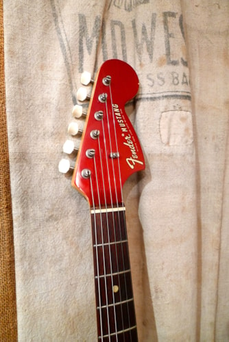 1970 Fender Competition Mustang Red, Very Good, Original Hard, $2,350.00