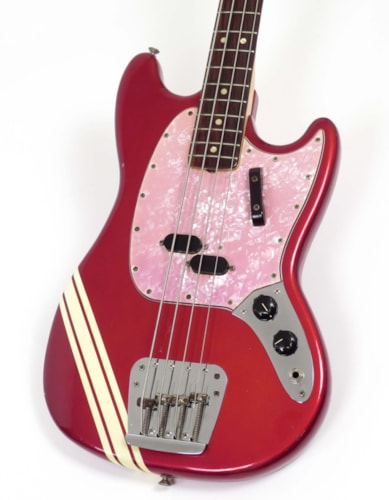 1970 Fender Mustang Bass Competition Red