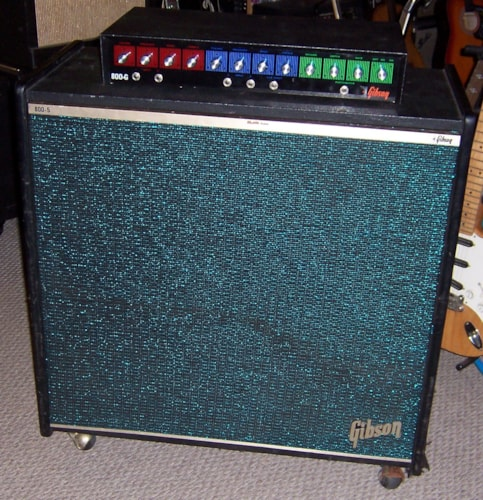 1970 Gibson 800-G and  800-5 Near Mint