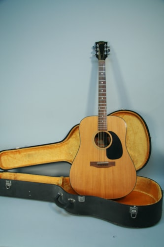 1970 Gibson  Blue Ridge Vintage Dreadnought Acoustic Guitar Natural w/HSC Natural, Very Good, Hard