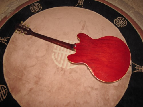 1970 GIBSON ES335TDC Cherry Red